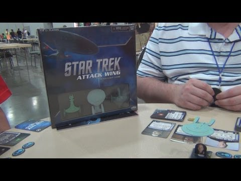 How to play Star Trek Attack Wing from Wizkids at Origins 2013