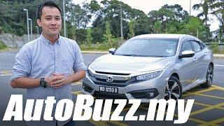 2016 Honda Civic 1.5 Turbo Premium Review - AutoBuzz.my