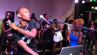 VIDEO: Haiti - K-Zino Performance Live CARIFESTA XII, Place Boyer