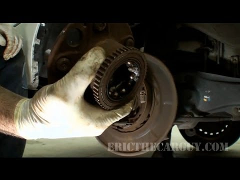 1996 RL Rear Wheel Bearing Replacement -EricTheCarGuy