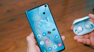 Обзор Galaxy S10 - опыт после iPhone