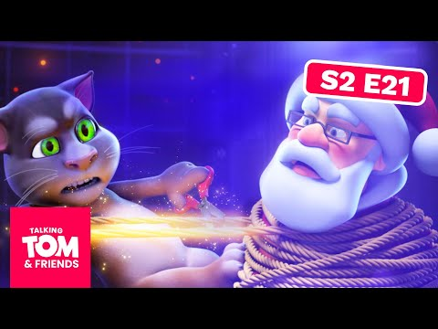 Talking Tom and Friends -  Saving Santa | Season 2 Episode 21