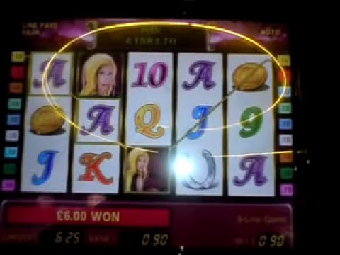 Lucky Lady's Charm, £1600 bonus game - All 5 blobs during bonus round