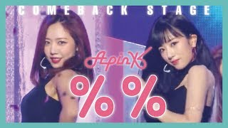 Comeback Stage Apink Eung Eung 에이핑크 응응 Show Music Core 20190112