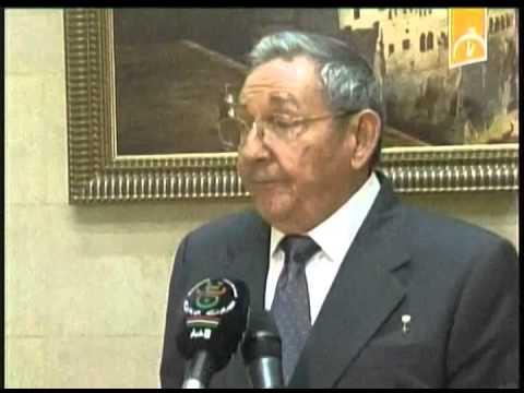 Argelia: se reune Raúl Castro con Abdelaziz Buteflika