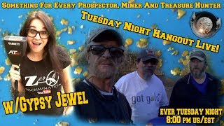 Tuesday Night Hangout Live! With Gypsy Jewel of YouTube Channel Zero Discrimination.