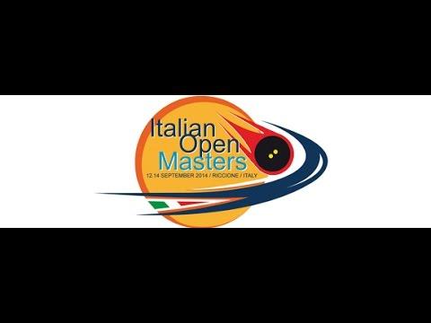2014 - Italian Open Masters - Day 1