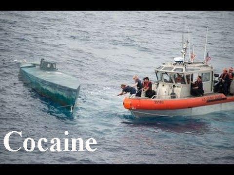 Authorities intercept $200 million in cocaine heading to US on mini submarine. 25 March 2016.