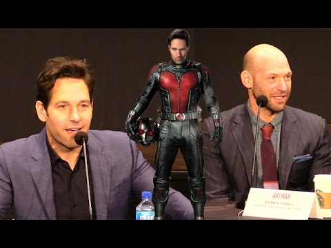 Paul Rudd And Corey Stoll Talk Suits Of 'Ant-Man'