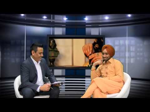 Satinder Sartaj interview by Beant Singh on Sangat Television...