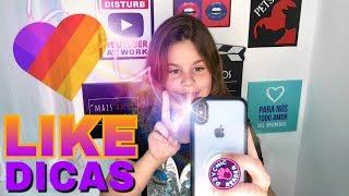 DICAS app LIKE (efeitos)