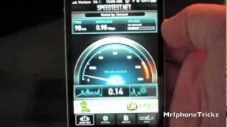 iPhone 4s Death Grip + Speed Test