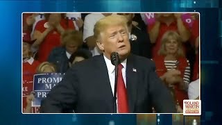 Donald Trump Announces That He Is A 'Nationalist' During A Rally In Texas