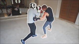 DEJI vs FaZe Sensei (Unseen SPARRING Footage)