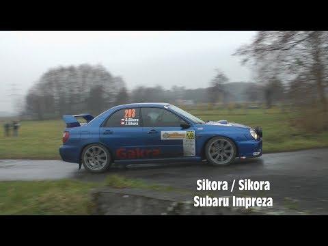 44 Rajd Cieszyńska Barbórka 2018 - SKJS - Sławomir Sikora / Jakub Sikora - Subaru Impreza