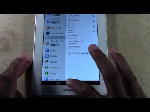 Galaxy Tab 2 7.0 - How to Take a Screenshot (Updated)​​​   H2TechVideos​​​