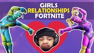 GIRLS, RELATIONSHIPS & FORTNITE     HIGH KILL FUNNY GAME