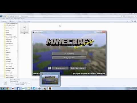 Como descargar Minecraft Nuevo Launcher No premium Pirata 1.7 Actualizable
