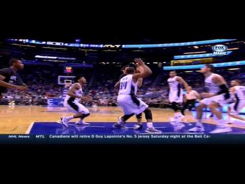 Ricky Rubio sprains ankle: Minnesota Timberwolves at Orlando Magic
