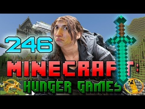 Minecraft: Hunger Games w Mitch Game 246 SECRET DIAMOND SWORD