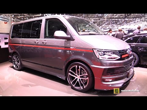 2016 Volkswagen Bus ABT - Exterior and Interior Walkaround - 2016 Geneva Motor Show