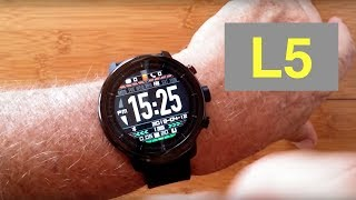 Microwear (Bakeey) L5 IP68 Waterproof Smartwatch with White LED Flashlight: Unboxing and 1st Look