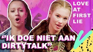 FAMKE LOUISE bij LOVE AT FIRST LIE?! | Love at First Lie - CONCENTRATE VELVET