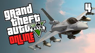 GTA 5 Online | Episode 4 - STEALING JETS (Grand Theft Auto 5)