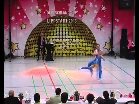 Nina Stahl & Philipp Bauer - Deutschland Cup 2013