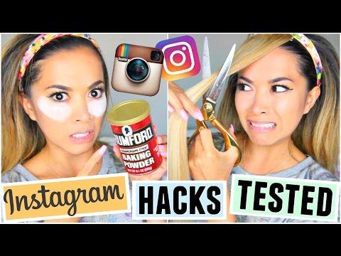 Instagram Beauty Hacks TESTED!