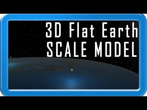 1 TO 1 SCALE MODEL FLAT EARTH || FREE DOWNLOAD || PROVE FLAT EARTH TO YOURSELF