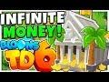 MONKEY WALL STREET *INFINITE MONEY STRATEGY* ROUND 100+   Bloons TD 6 (BLOONS TOWER DEFENSE 6)