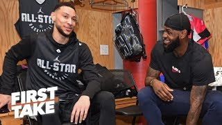 The LeBron-Ben Simmons trade rumors need to stop! - Stephen A.   First Take