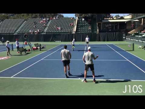 Lopez/Norrie (TCU) vs Fawcett/Goldberg (Stanford)