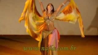 Najla al Hafsa. Salomé - Dança dos 7 véus (seven veils)