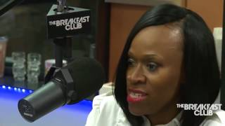 TASHERA SIMMONS (DMX'S EX WIFE) INTERVIEW AT THE BREAKFAST CLUB POWER 105.1