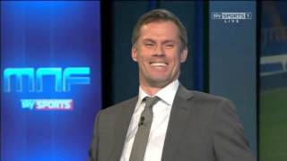 Gary Neville accuses Jamie Carragher of reading off a script