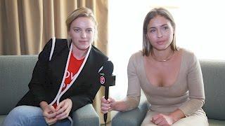 Erika Linder and Natalie Krill talk Below Her Mouth
