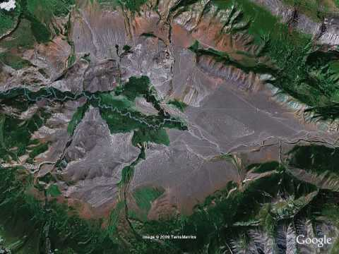 Mountains Google Earth Captured by Google Earth