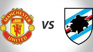 Manchester United vs Sampdoria 2-1 FULL MATCH | 2 08 2107