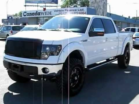 Lifted 2010 Ford F-150 Lariat LOBO Edmonton, AB USED TRUCK DEALER Fort McMurray Calgary