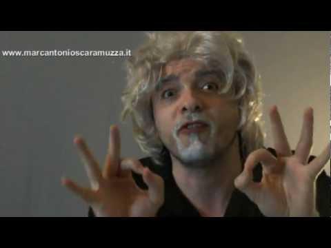 Beppe Grillo  contro Giuliano Ferrara e il rap :Cavaliere tienimi da conto Monti e il Vaticano