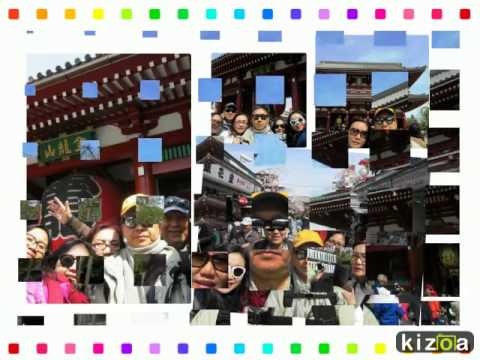 Kizoa Video Maker: Family Trip Japan 3-11 April 2015