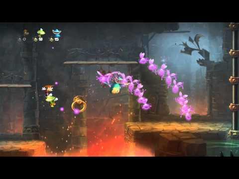 Rayman Legends - E3 2012 - Demo Walkthrough
