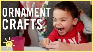 PLAY   3 ORNAMENT CRAFTS for KIDS!