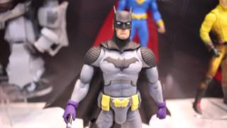 Mattel DC Multiverse, Batman Classic TV Series & Batman Unlimited SDCC 2015 Display