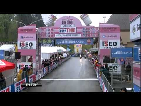 Giro d'Italia 2012 - Stage 15 - Final kilometers