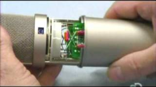 How a Neumann U87 microphone is manufactured