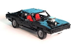 LEGO Technic Supercharged Muscle Car