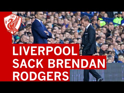 Brendan Rodgers SACKED - Final Press Conference after Everton 1-1 Liverpool (In Full)